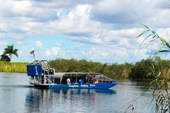 Everglades Airboat Royalty Free Stock Images