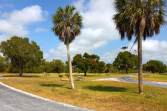 Everglades Campground Stock Image