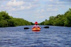 Everglades Kayaking Stock Foto's