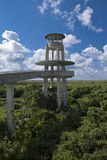 Everglades Outpost. The Everglades Outpost at Shark Valley royalty free stock photos