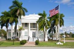 Everglades stad, stadshus Arkivbilder