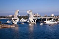evergladesFort Lauderdale port Royaltyfria Bilder