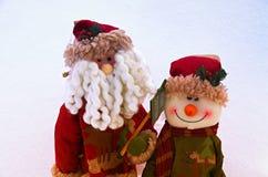 evergreen украшения рождества цветет вал красного цвета poinsettia приветствиям Стоковая Фотография