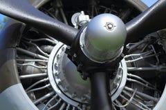 Free Evergreen Aviation Museum, Oregon, USA - Propeller And Plane Engine Of Douglas C-47 Sky Train, Detail Royalty Free Stock Photo - 153843175