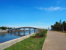 Evergreen Park, Haikou City, Hainan Island, China Stock Photos