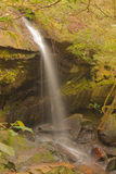 Evergreen small waterfall in Thailand Royalty Free Stock Photos