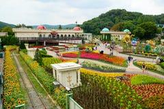 Everland手段游乐园,韩国 免版税库存图片