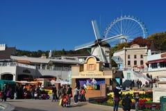 Everland semesterort, Sydkorea Arkivfoton