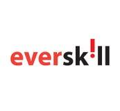 EverSkill Logo Concept Design Stock Photos