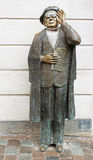 Evert Taube Monument (1890-1976), one of the famous Swedish composers royalty free stock image