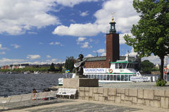 Evert Taubes terrass, Stockholm Royalty Free Stock Images