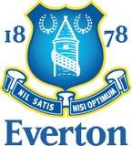 Everton Football Club logo Royaltyfri Fotografi