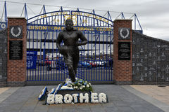 Everton Football Club Stadium stockbilder