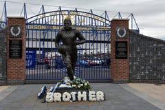Everton Football Club Stadium Stockbilder