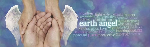 Every Carer is an Earth Angel royalty free stock photography