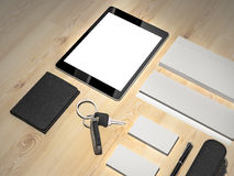 Every day carry . Mockup business template. Stock Images