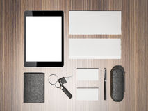 Every day carry . Mockup business template. Stock Image