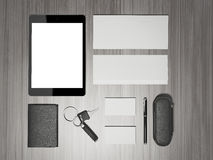 Every day carry . Mockup business template. Royalty Free Stock Photography