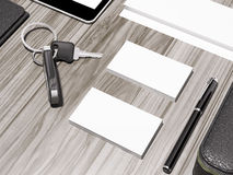 Every day carry . Mockup business template. Royalty Free Stock Photo