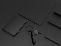 Every day carry . Mockup business template. Stock Photography