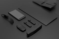 Every day carry. Mockup business template. Royalty Free Stock Image