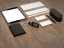 Every day carry . Mockup business template. Royalty Free Stock Images