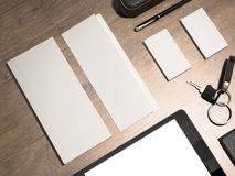 Every day carry. Mockup business template. Stock Photo