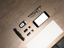 Every day carry. Mockup business template. Royalty Free Stock Images