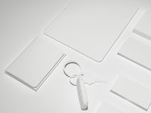 Every day carry . Mockup business template. Royalty Free Stock Photos
