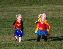 Every Hero Needs  a Sidekick Royalty Free Stock Images