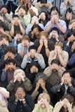 Every People Covering Their Eyes Royalty Free Stock Photos