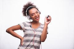 Everybody loves music Royalty Free Stock Images
