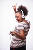 Everybody loves music Stock Image