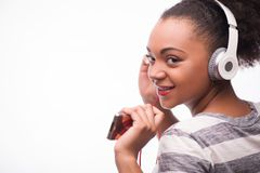 Everybody loves music Stock Images