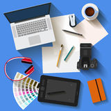 Everyday business objects Royalty Free Stock Photography