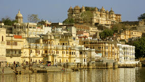 Everyday city scene in Udaipur, India Stock Photography