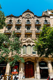 Everyday Life In Busy Downtown Barcelona City Of Spain Stock Images