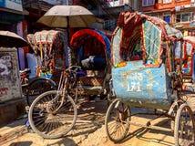 The everyday life Kathmandu, Nepal Royalty Free Stock Image