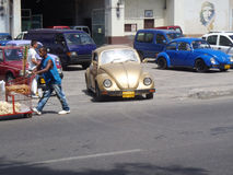Everyday life on streets of Havana Centro Royalty Free Stock Photos