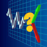 Everyday market question 3D Stock Photography
