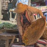 Market Stall - Bagan - Myanmar (Burma) Stock Image