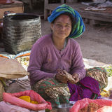 Burmese Woman - Bagan - Myanmar (Burma) Stock Photography