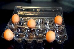 Everyday social distancing - eggs
