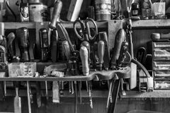 Everyday Tool Rack Stock Images