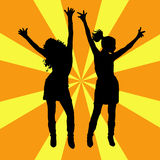Everyone dance! Royalty Free Stock Photography