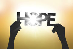 Everyone has hope Stock Images