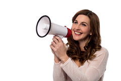 Everyone please listen to me ! Royalty Free Stock Photo