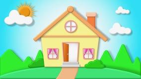 Everyone ` s szczęśliwy dom Fotografia Stock