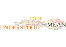 Everyone Talks In Code Text Background  Word Cloud Concept. EVERYONE TALKS IN CODE Text Background Word Cloud Concept Royalty Free Stock Images