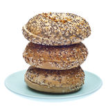 Everything Bagels Stock Images